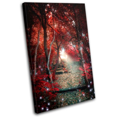 Mystical Forest Trees Landscapes - 13-1840(00B)-SG32-PO